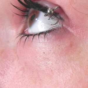 Eyelid Piercing